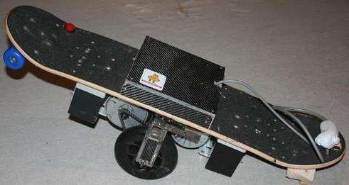 Réalisation d'un skate électrique simple Fhm32f10