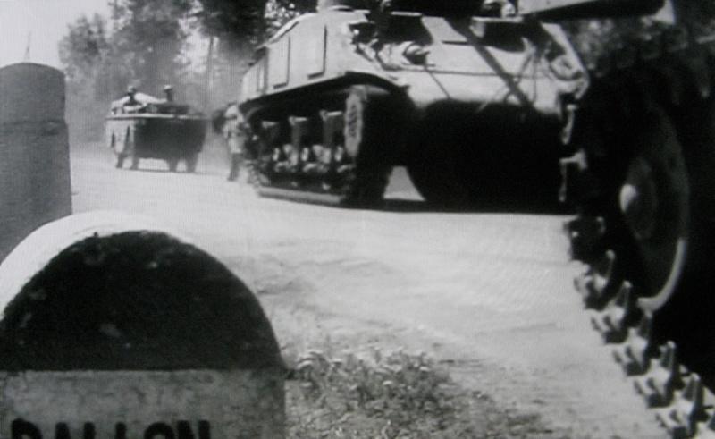 Films d'archives débarquement du 12° RCA Ballon10