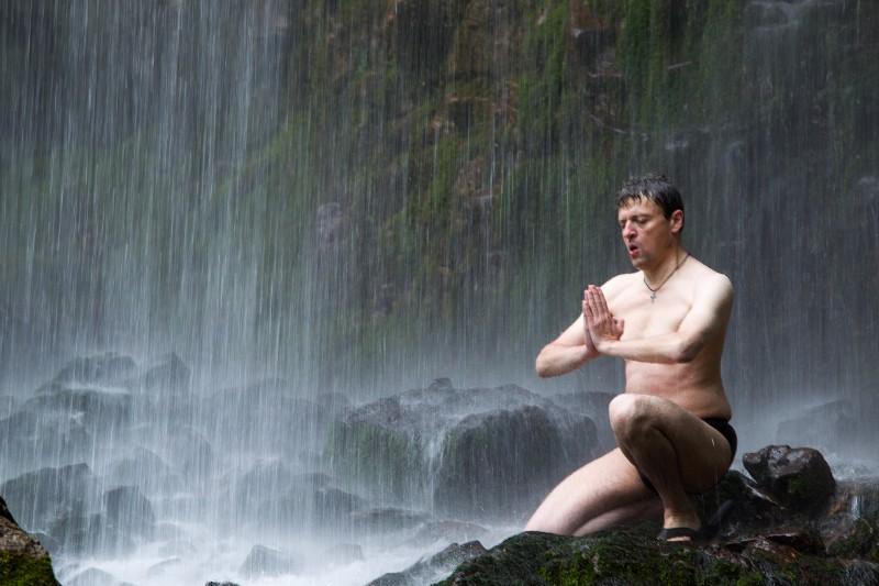 Yoga du froid dans la Chartreuse 00810