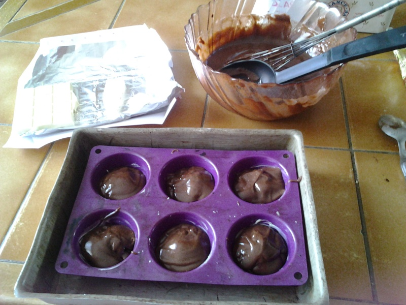 Moelleux au chocolat coeur fondant chocolat blanc 20130716