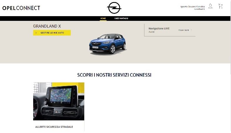 Servizio Opel Connect Opelco11