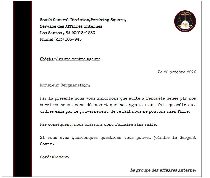 Plainte contre le GOUVERNEMENT de SAN ANDREAS Iag_qu10