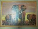 Elephant Oil Painting by Nita 132