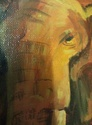 Elephant Oil Painting by Nita 521