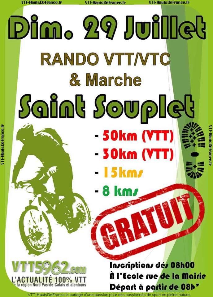 Le 29 juillet 2018 - Rando gratuite de Saint Souplet 26993810