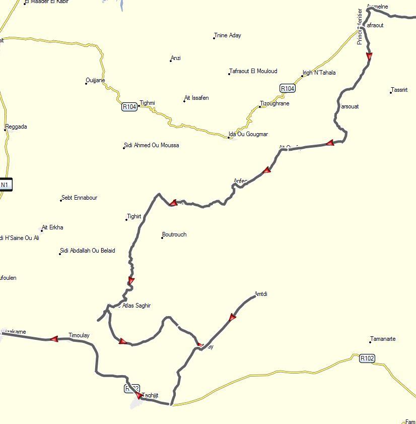 [Carburant, Routes, Police] Nouvelle route pour accéder à Amtoudi Amtoud11