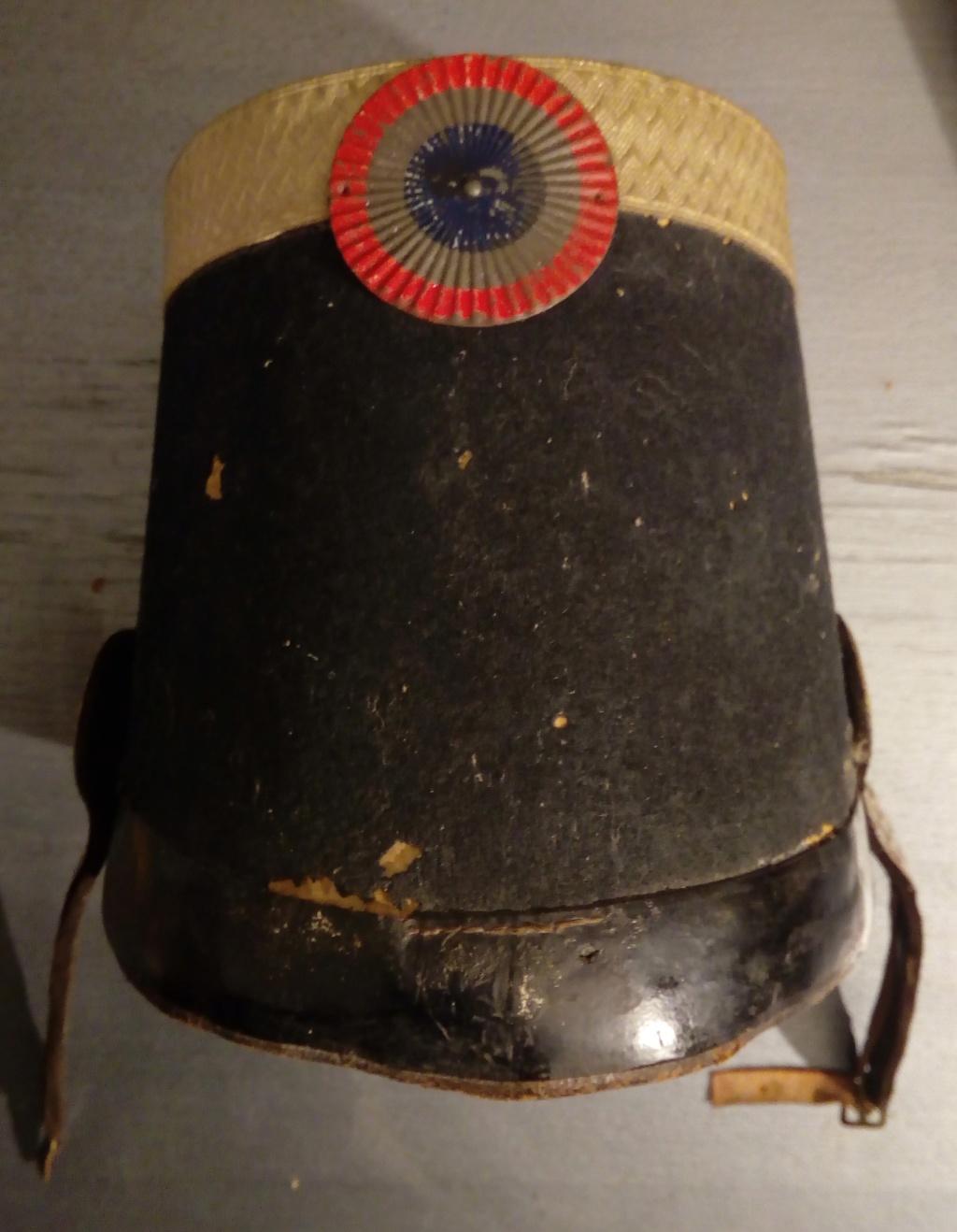 Shako officier supérieur grenadier garde Nationale 1830-1848. Img_2113