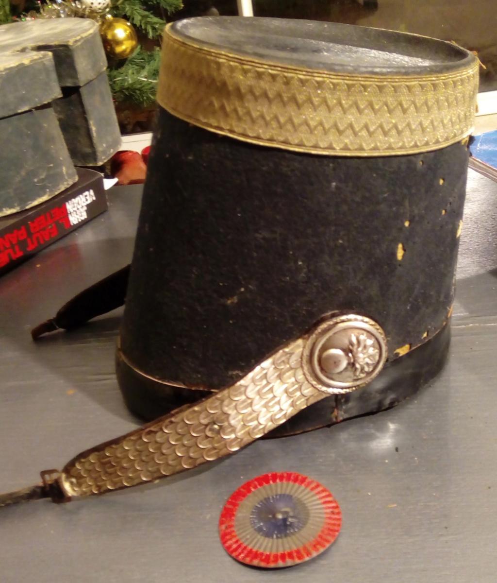 Shako officier supérieur grenadier garde Nationale 1830-1848. Img_2114