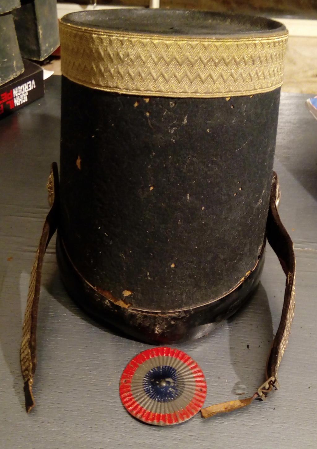 Shako officier supérieur grenadier garde Nationale 1830-1848. Img_2115