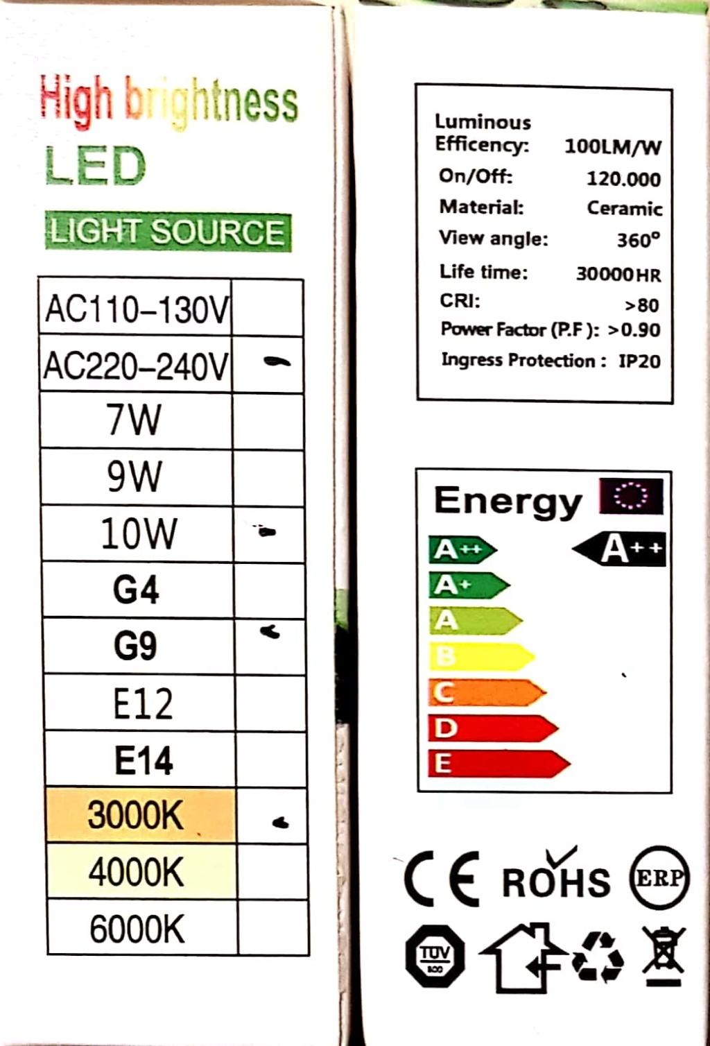 LED spuldzes, apgaismojums New_do11
