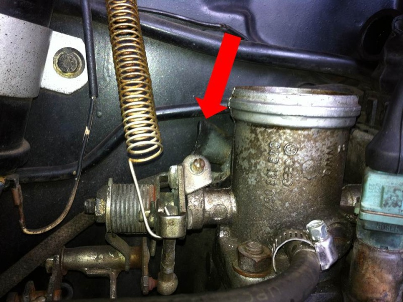 What is this crimped off connection? Engine10