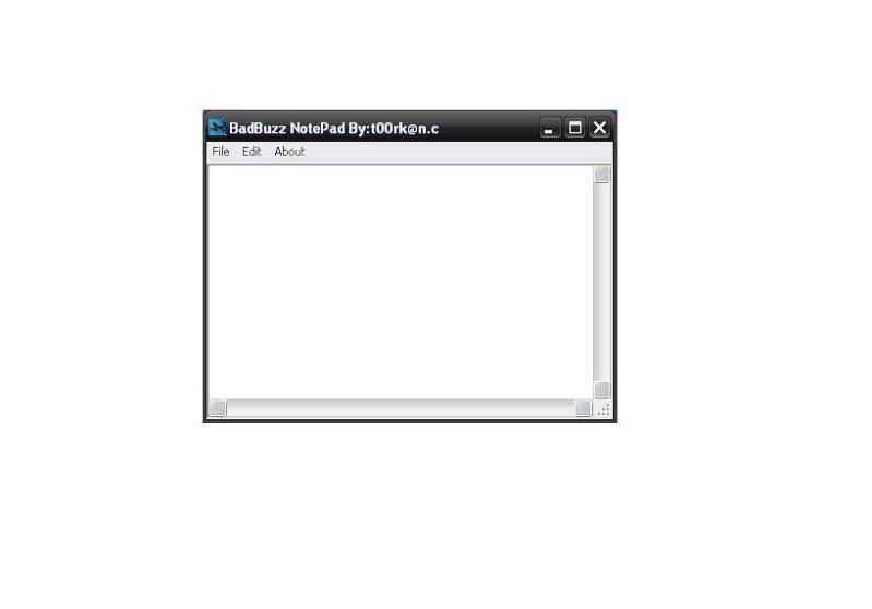 Badbuzz Notepad 86594110