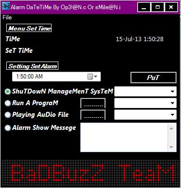 badBuzz Alram & Date Time Alarm_10