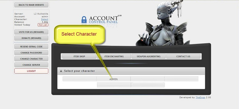 How to Donate with ACP Select11