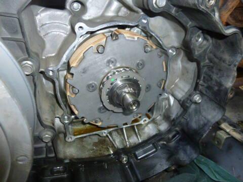 Wet clutch slipping