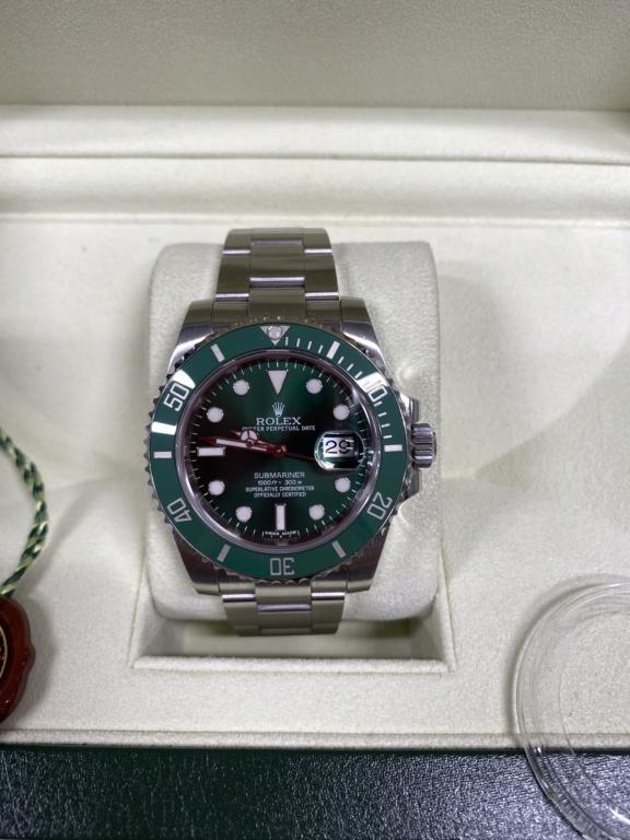 [Vends] Rolex Submariner 116610lv hulk 6586b810