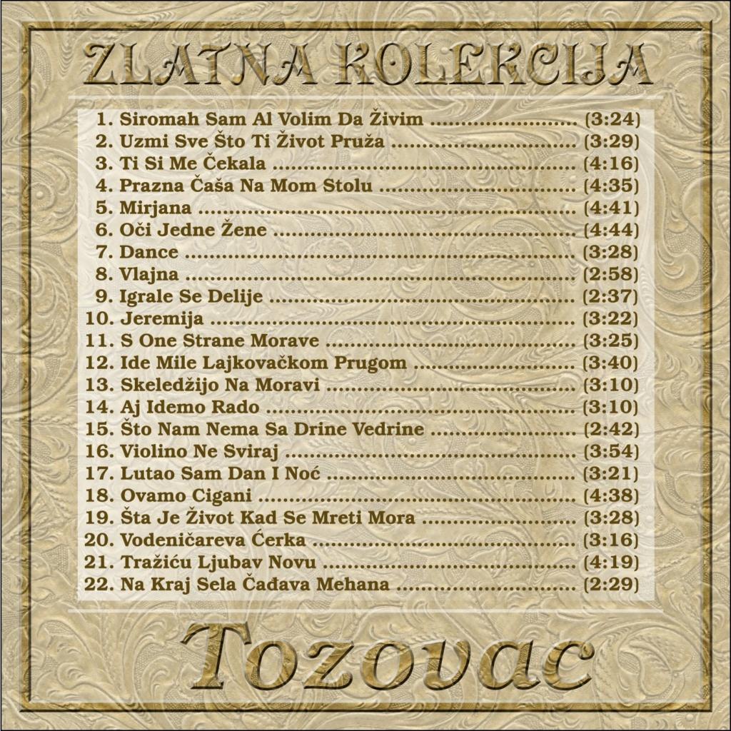 Predrag Zivkovic Tozovac - Diskografija Tozova11