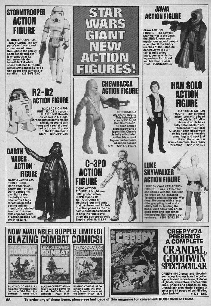 SW ADVERTISING FROM COMICS & MAGAZINES - Page 3 Creepy17