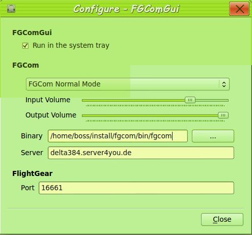 Vol contrôlé sur LFLG Fgcom11