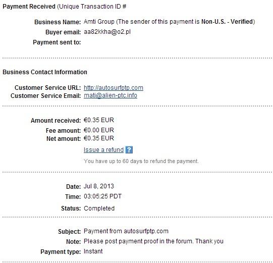 My payment-autosurfptp 112