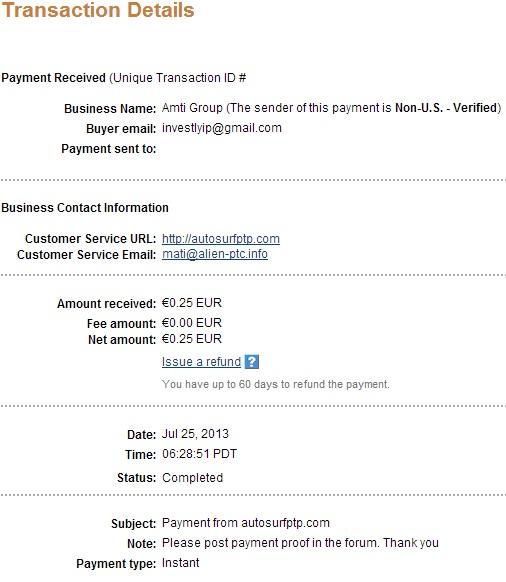 My payment-autosurfptp 117