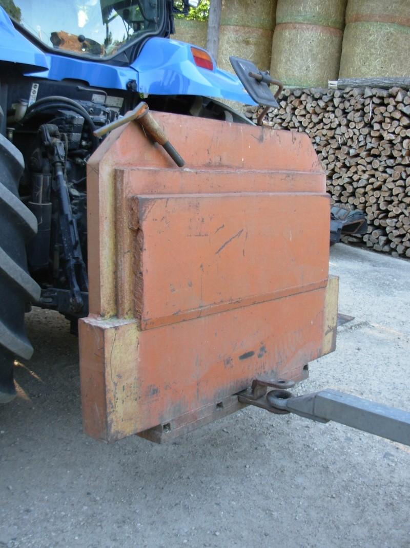 masse de tracteur Masse110