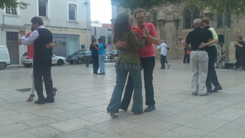 Los Jueves de Verano, 27 juin place des Clercs à Valence 100_0217