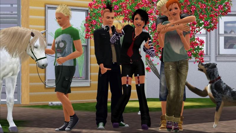 • Galerie d'animaux & de Sims de Nerwen • Screen24