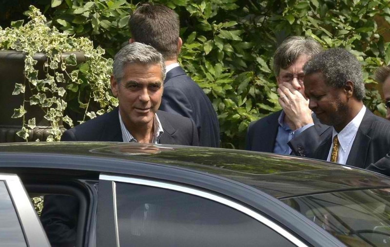 Paris in store Event for Nespresso with George Clooney Image40