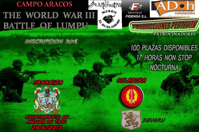 29/06/2013 Wordl War III, Battel of Lumpu 53249010