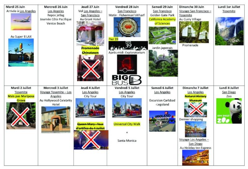 Notre inoubliable périple californien du 25 juin au 16 juillet 2013 (San Francisco, Yosemite, Los Angeles, Legoland, San Diego Zoo & SeaWorld et... DISNEYLAND!)  Voyage12