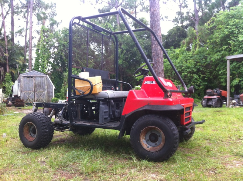 Kawasaki mule 2510 Corbett hunting buggy project Image39