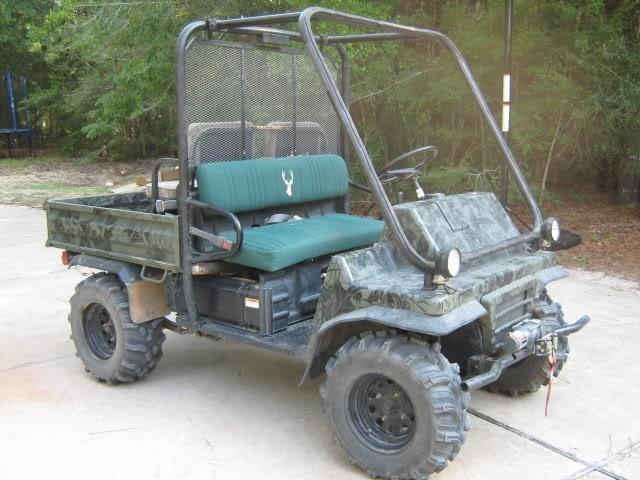 Kawasaki mule 2510 Corbett hunting buggy project Image43