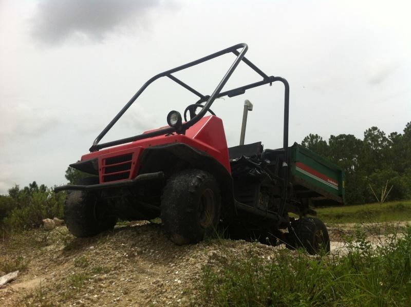 Kawasaki mule 2510 Corbett hunting buggy project Image47