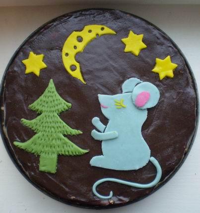 Украшение тортов Myshki10