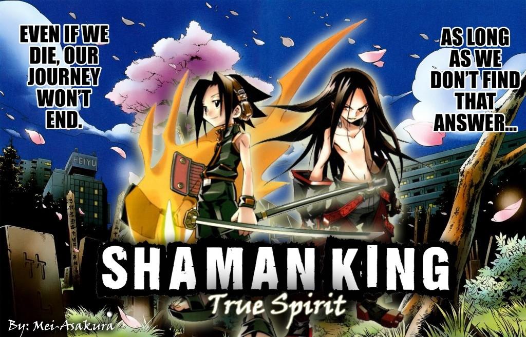 shaman king manga, zero y demas one shots.. Fondo12