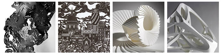 Paper Sculpture Workshop, 21st September, Wakefield. Student discount available. Worksh10