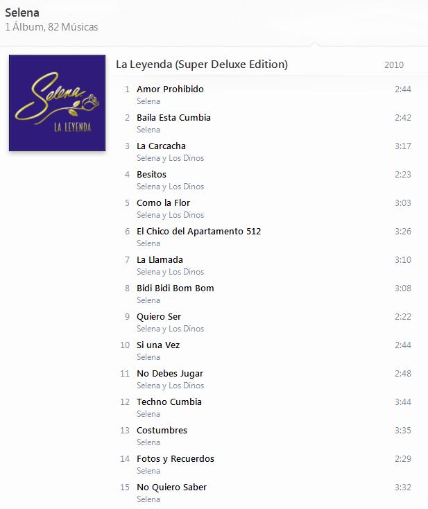 Selena - La Leyenda (Super Deluxe Edition) [iTunes Plus AAC M4A] - Album  114