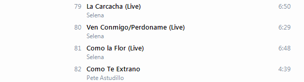 Selena - La Leyenda (Super Deluxe Edition) [iTunes Plus AAC M4A] - Album  611