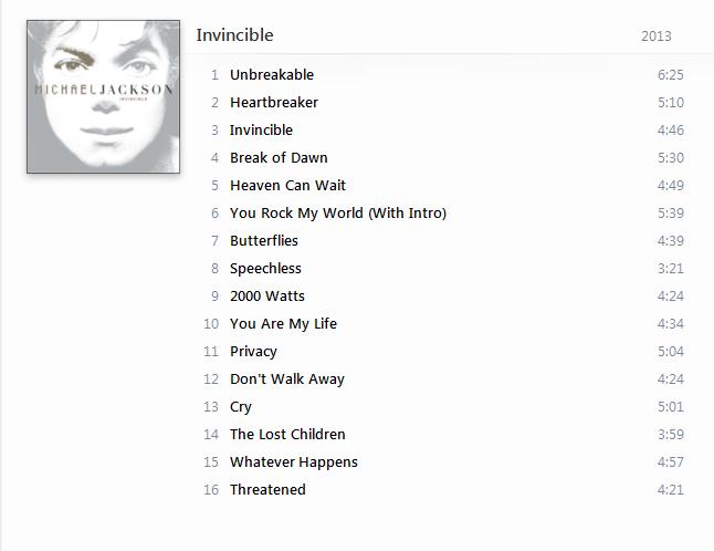 Michael Jackson - The Indispensable Collection (8 Albums) 2013 [iTunes Plus AAC M4A] - Album  711