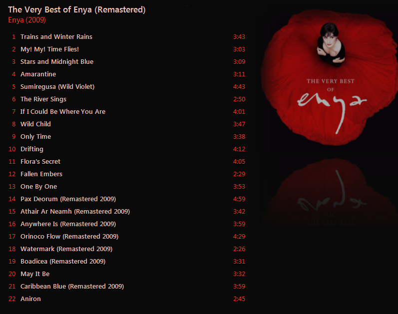 Enya - The Very Best of Enya (Remastered) [iTunes Plus AAC M4A] - Album - Page 8 Captur34