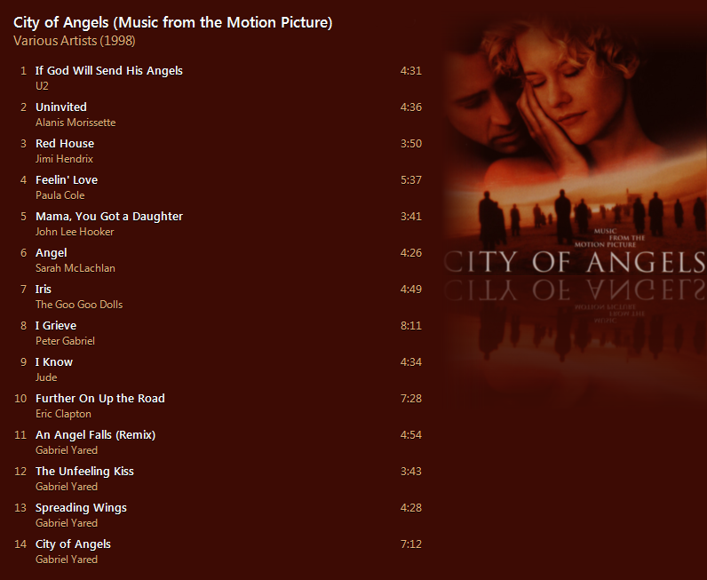 Various Artists - City of Angels (Music from the Motion Picture) [iTunes Plus AAC M4A] - Album  Captur49