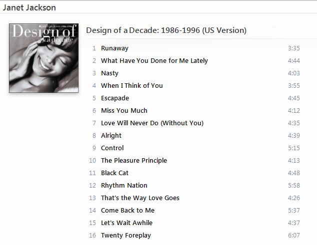 Janet Jackson - Design of a Decade 1986-1996 (US Version) [iTunes Plus AAC M4A] - Album Captur56