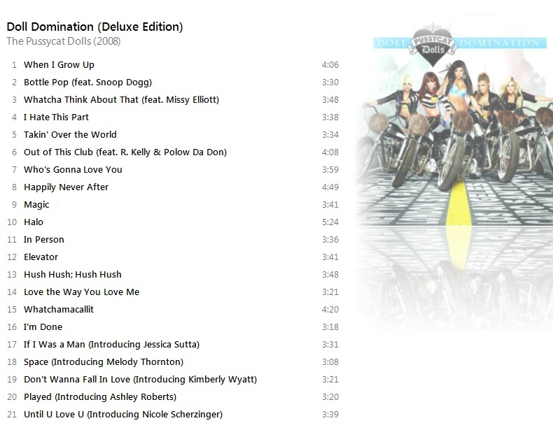 The Pussycat Dolls - Doll Domination (Deluxe Edition) [iTunes Plus AAC M4A] - Album Pussy11