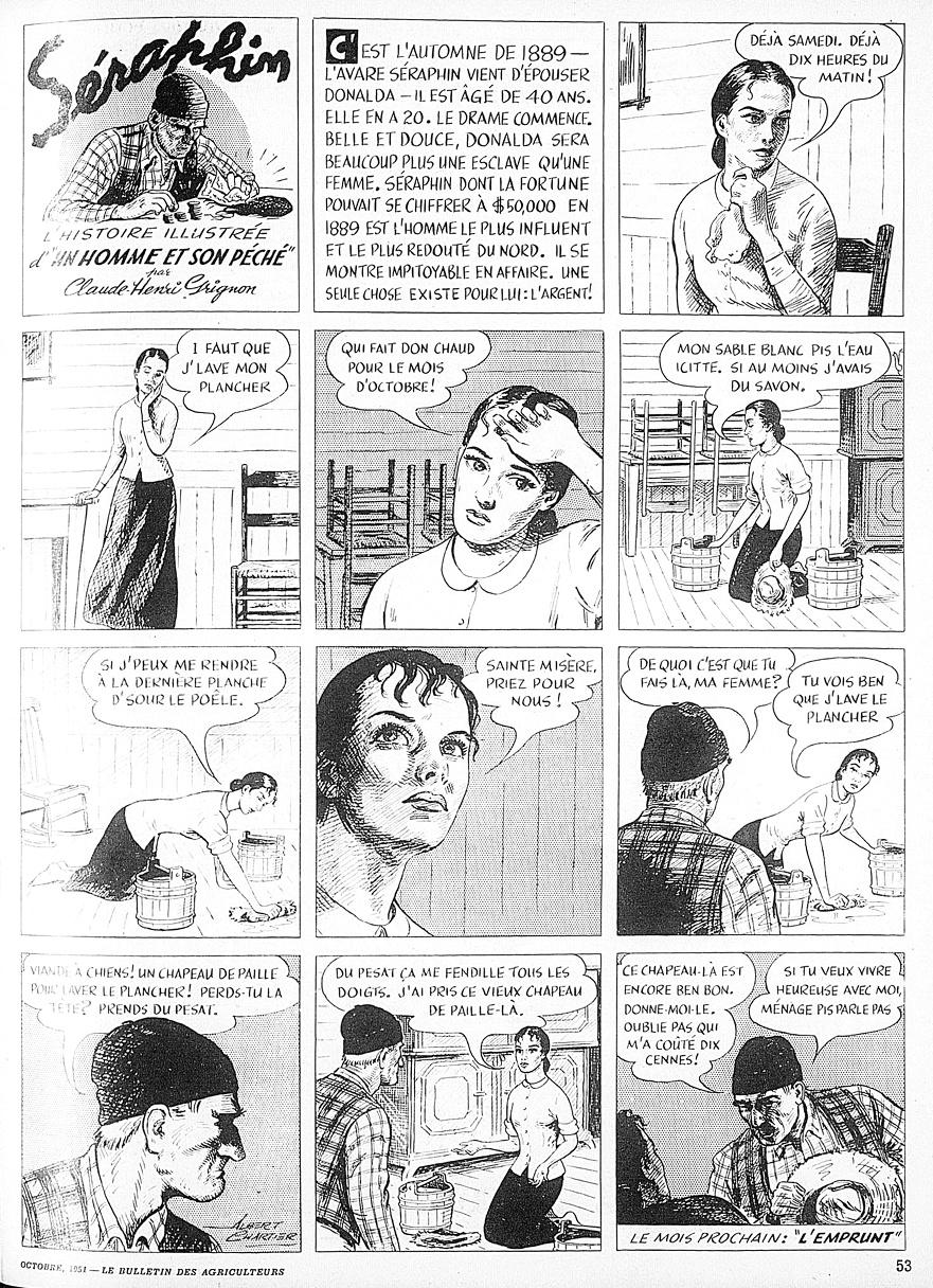 Bandes dessinées du Québec Charti11