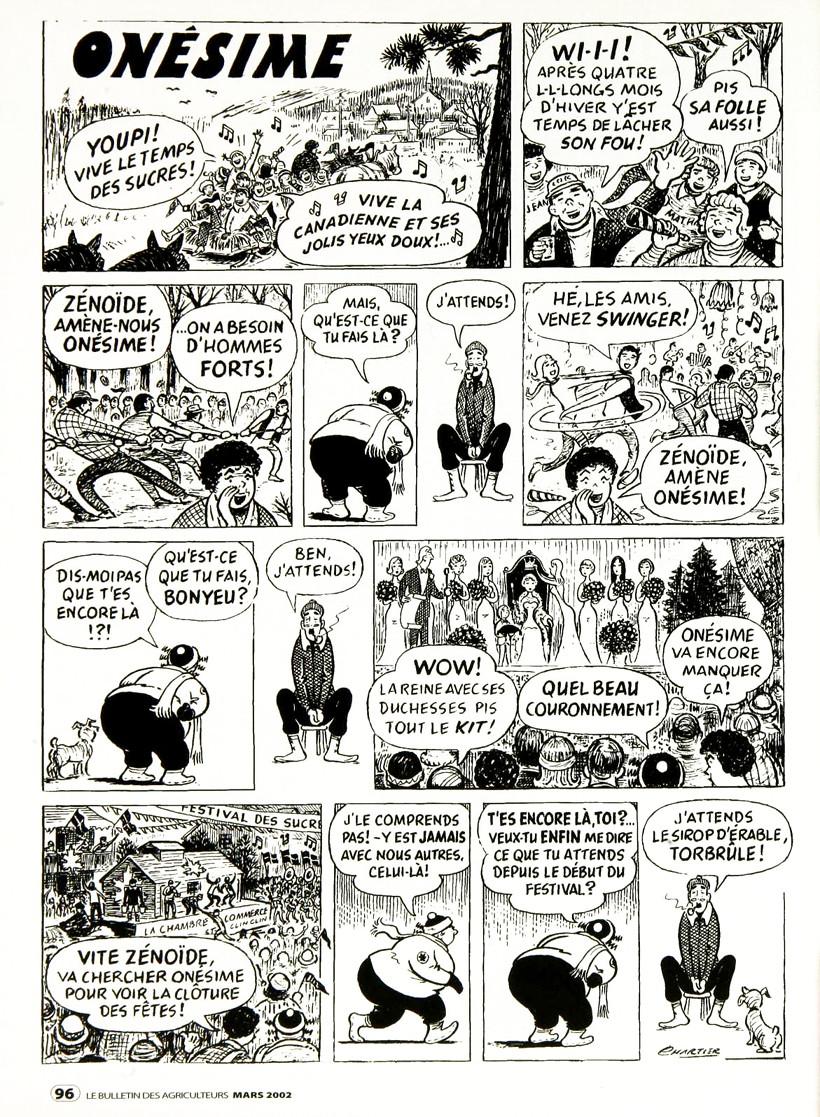 Bandes dessinées du Québec Charti12