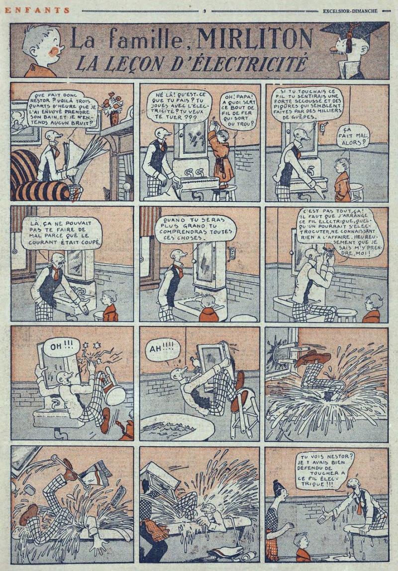 9ème Art, musée de la bande dessinée par Morris et Vankeer - Page 9 Mirlit10