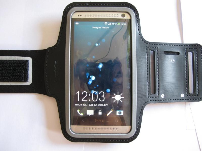 [ TEST] Housse brassard HTC One Img_6014