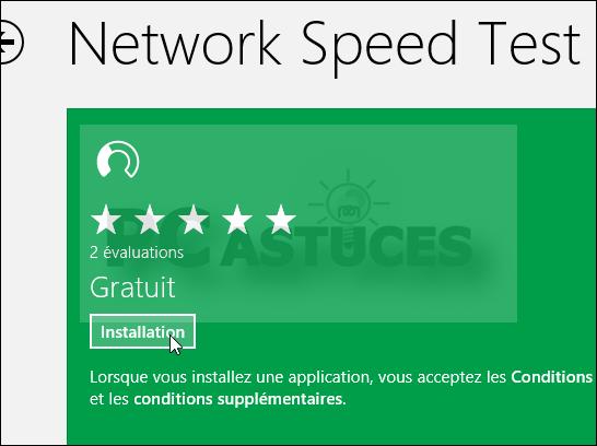 Astuce: Tester la vitesse de sa connexion internet (Windows 8) 3846-310