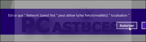 Astuce: Tester la vitesse de sa connexion internet (Windows 8) 3846-510